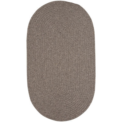 Capel Inc. Candor Concentric Braided Oval Rugs