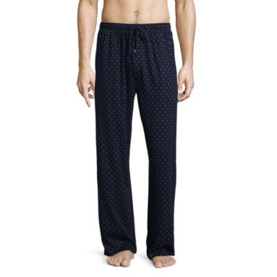 Stafford Mens Knit Pajama Pants