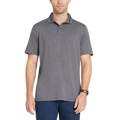Van Heusen Traveler Non Stop Stretch Short Sleeve Jersey Polo Shirt