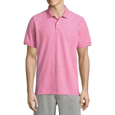 St. John's Bay® Short-Sleeve Legacy Oxford Piqué Polo