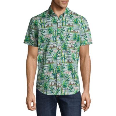 Arizona Short Sleeve Button-Front Shirt