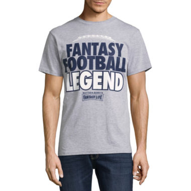 Novelty Season Short Sleeve Sports Graphic T-Shirt