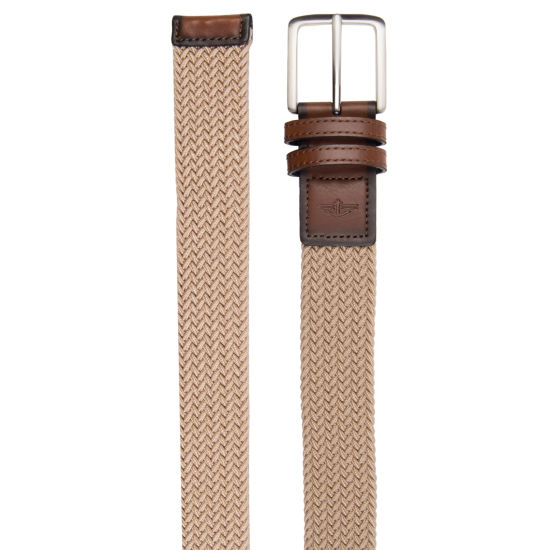 Dockers Men's Stretch Fabric Belt