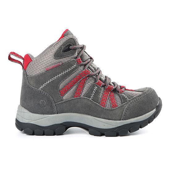 Northside Little Kid/Big Kid Boys Freemont Wp Hiking Boots Flat Heel Lace-up