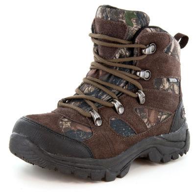 Northside Little Kid/Big Kid Boys Tracker Jr Winter Boots Flat Heel Lace-up