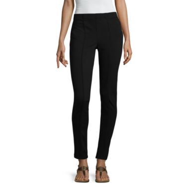 Rewind Not Applicable Skinny Fit Ankle Pants-Juniors