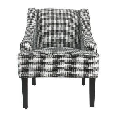 Homepop Classic Swoop Accent Chair