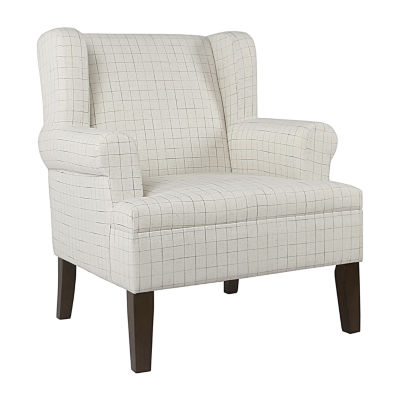 Home Pop Emerson Rolled Arm Accent Chair