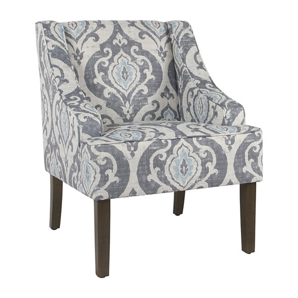 Homepop Swoop Accent Chair