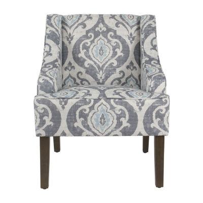 Homepop Swoop Accent Chair