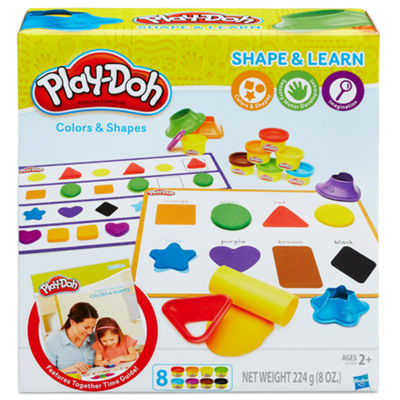 Play-Doh Colors & Shapes Kids Dough