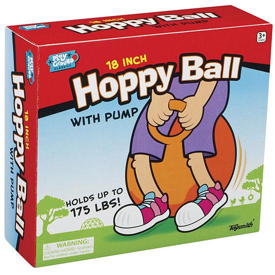 """Toysmith 18"""" Hoppy Ball with Pump"""