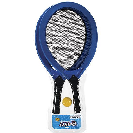 Toysmith Jumbo Tennis Racket Set