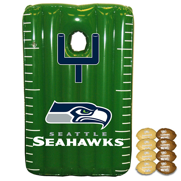 Fremont Die NFL Seattle Seahawks Team Toss Inflatable Bean Bag Game