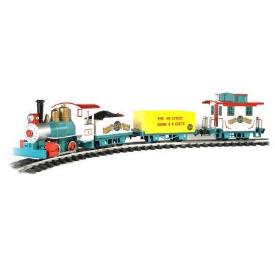 "Bachmann Trains Ringling Bros. And Barnum & Bailey™ Li'L Big Top Ready To Run Electric Train Set -Large ""G"" Scale"""
