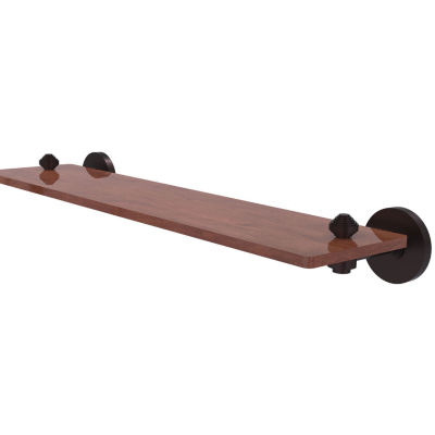Allied Brass South Beach Collection 22 IN Solid Ipe Ironwood Shelf