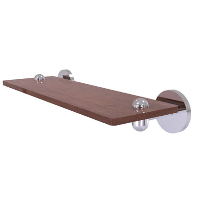 Allied Brass Tango Collection 16 IN Solid Ipe Ironwood Shelf