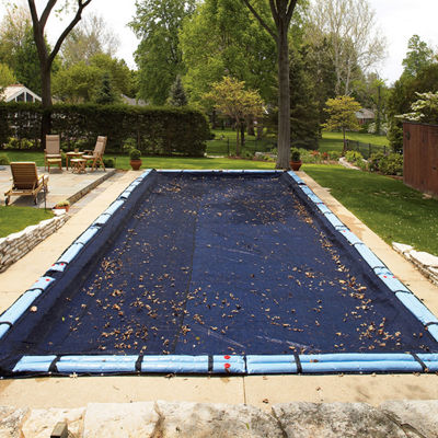 Rectangular Leaf Net In Ground Pool Cover