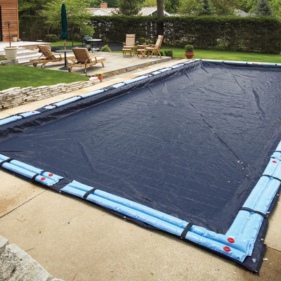 Bronze 8-Year Rectangular In Ground Pool Winter Cover