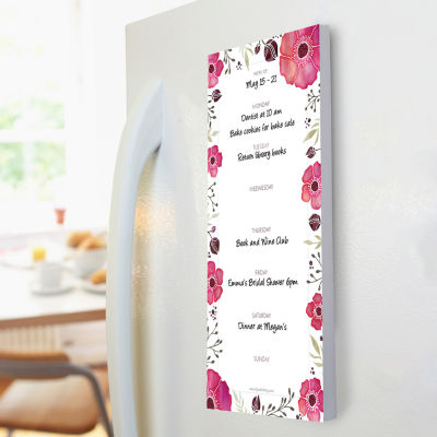 Poppies 70 Page Magnetic List Pad