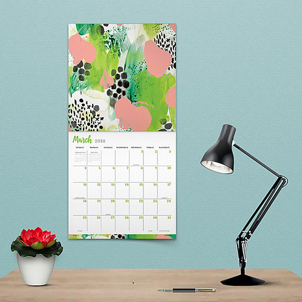 2018 The Art of Hallmark Wall Calendar