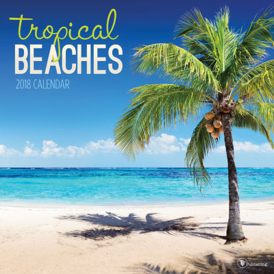 2018 Tropical Beaches Wall Calendar