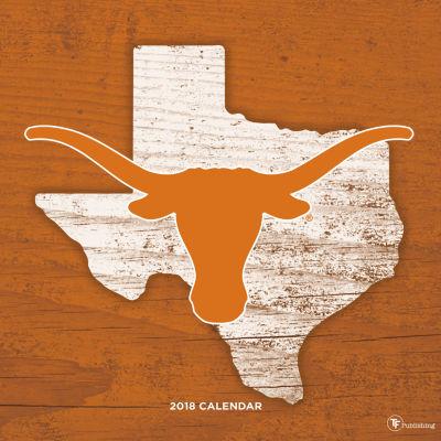 2018 University of Texas Wall Calendar