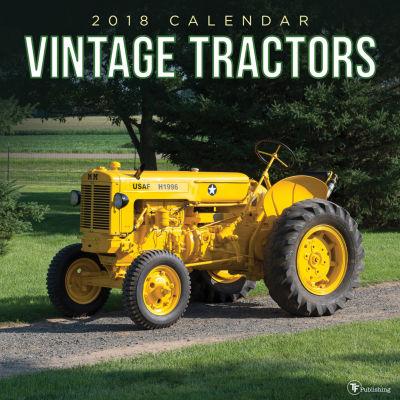 2018 Vintage Tractors Wall Calendar