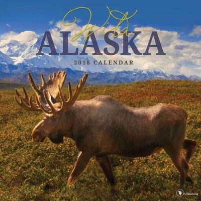 2018 Wild Alaska Wall Calendar