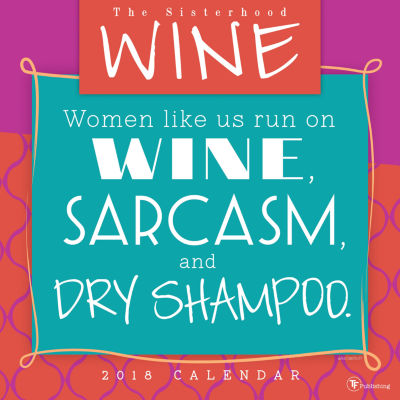 2018 Wine Wall Calendar