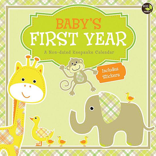 Tf Publishing Babys First Year Wall Calendar