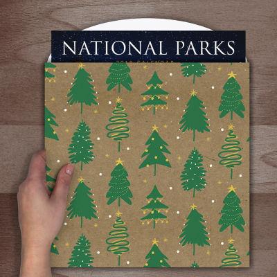 Green Trees Calendar Wrap