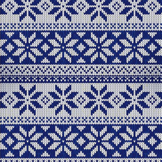 Snowflakes Calendar Wrap