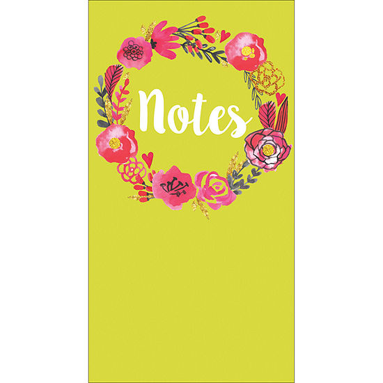 Tf Publishing Green Jotter Notepad