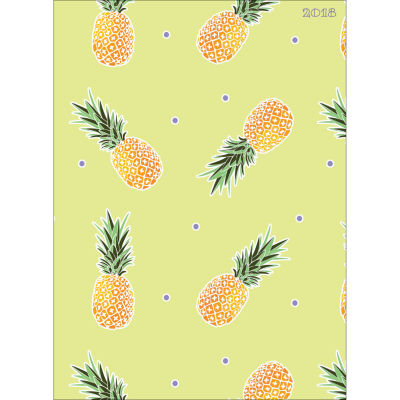 2018 Pineapples Monthly Planner