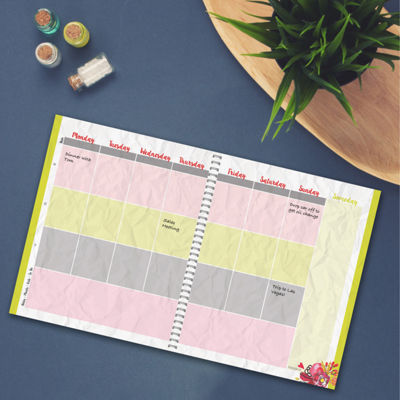 Stripes Non-Dated Planner