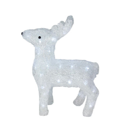 """15"""" Lighted Commercial Grade Acrylic Baby ReindeerChristmas Display Decoration"""""""