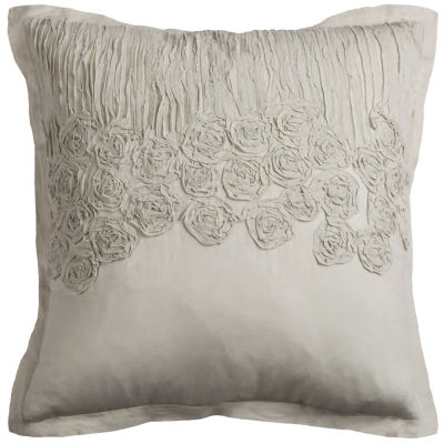 Rizzy Home William Flower And Flourish DecorativePillow