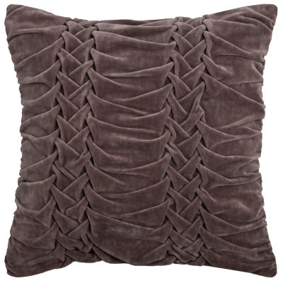 Rizzy Home David Solid Decorative Pillow