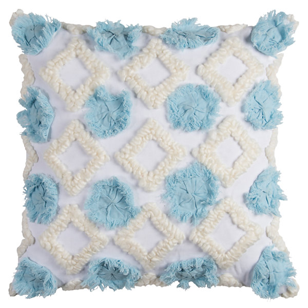 Rizzy Home Samuel Abstract Geometric Decorative Pillow