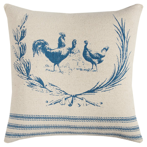 Jcpenney Home Decorative Pillow : Rizzy Home Kevin Rooster Decorative Pillow - JCPenney