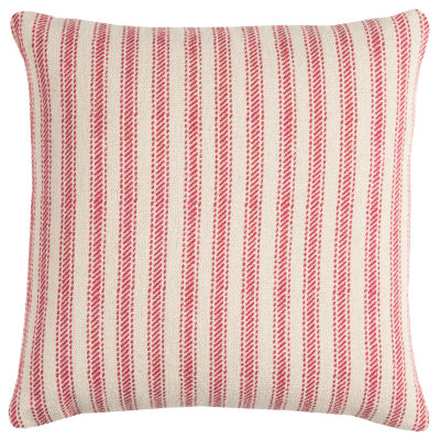 Rizzy Home Caleb Ticking Stripe Decorative Pillow