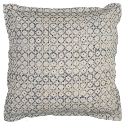 Rizzy Home Jackson Geometric Solid Decorative Pillow