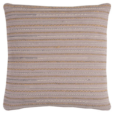 Rizzy Home Aidan Stripe Textured Decorative Pillow