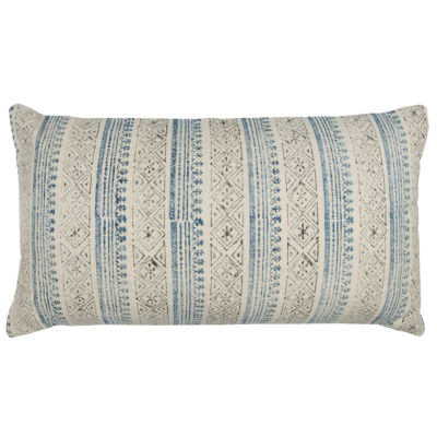 Rizzy Home Alex Vertical Stripe   Decorative Pillow