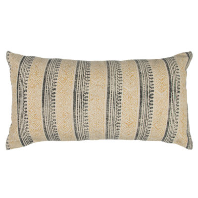 Rizzy Home Alex Vertical Stripe   Decorative Pillow