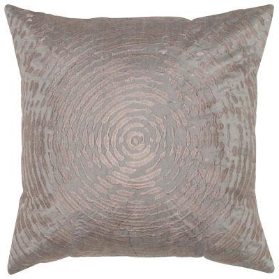 Rizzy Home Samantha Circular Abstract Motif Decorative Pillow