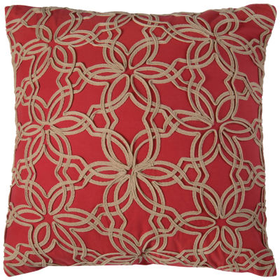 Rizzy Home Charlotte Floral Decorative Pillow