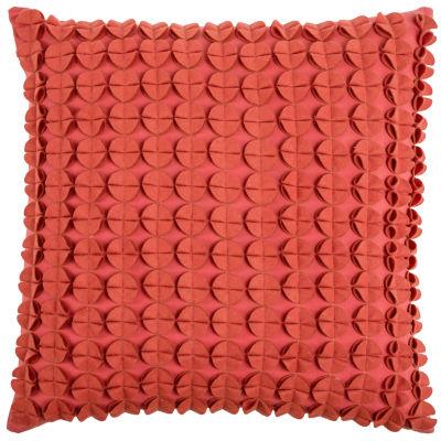 Rizzy Home Patricia Circlesdiscs Decorative Pillow
