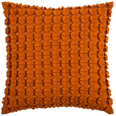 Rizzy Home Sam Circlesdiscs Decorative Pillow